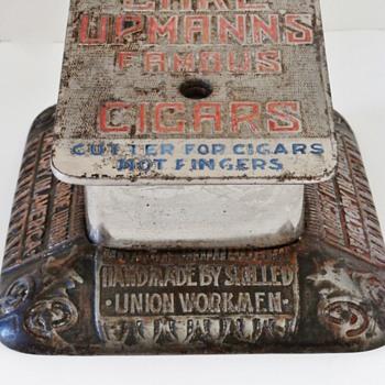 Carl Upmann Saloon Cigar Cutter - Advertising