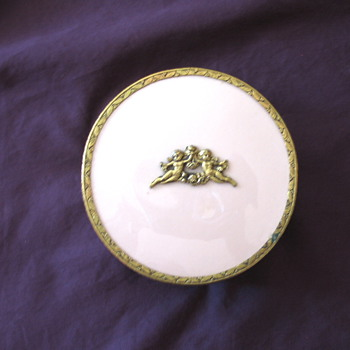 Powder Dish with Angel - Accessories