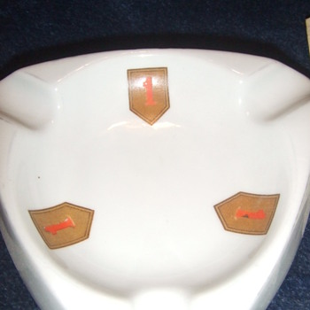 1st Infantry Division ashtray