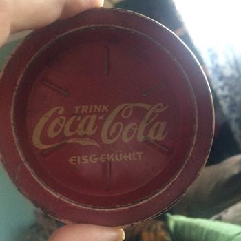 coca cola coaster (german)