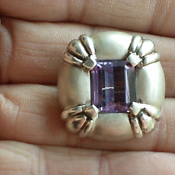 MAYBE UNSIGNED GEORG JENSEN BROOCH - Fine Jewelry