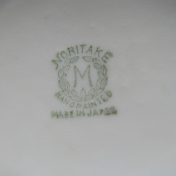 Unknown Noritake pattern