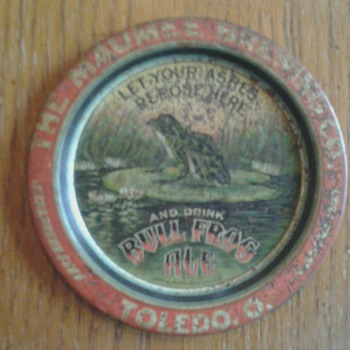 Maumee Brewery Co., Tip/Ash Tray 1900