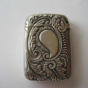Gorham Sterling Silver Match Safe  - Sterling Silver
