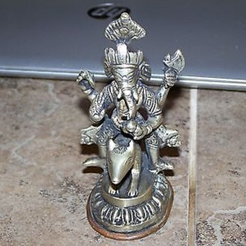 My new possibly old ganesha - Asian