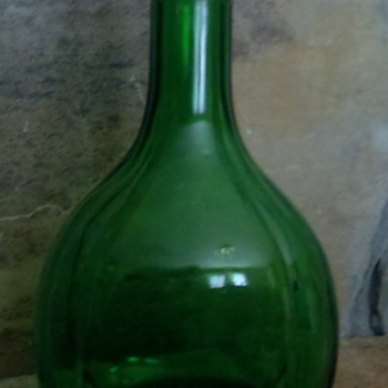 Duraglas Forest Green Bottle - Bottles