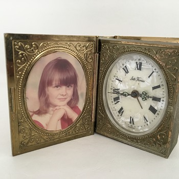 Photo Book Clock