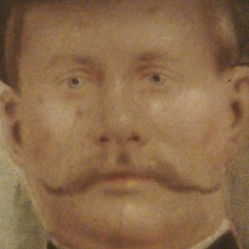 Soldier Chalk Portrait - Visual Art