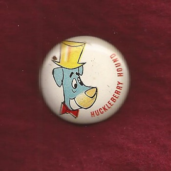 Early Hanna Barbera pinback - Medals Pins and Badges