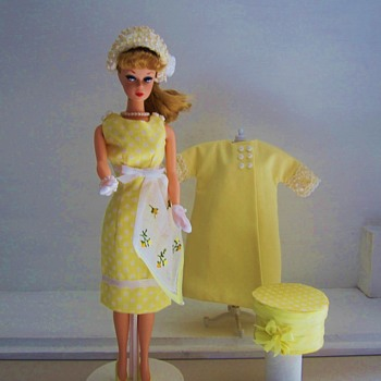 Handmade Barbie Silkstone Fashion Tulip Yellow by Kim - Dolls