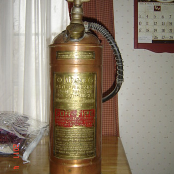 LaFrance Fire Extinguisher - Firefighting