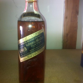 Old Johnnie Walker Bottle