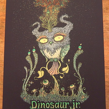 Dinosaur Jr by Marq Spusta - Posters and Prints