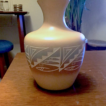 Johnson Navajo Pottery Vase