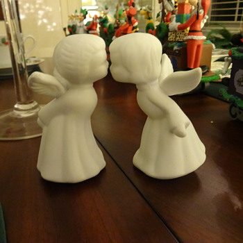 THIS IS OUR KISSING ANGELS. - Christmas
