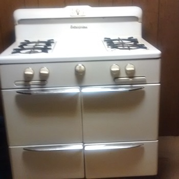 Enterprises vintage stove