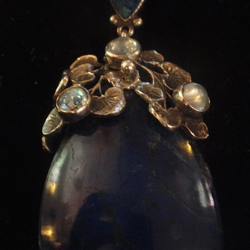 Arts & Crafts pendants by Amy Saindheim
