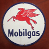 Mobilgas Circular Sign