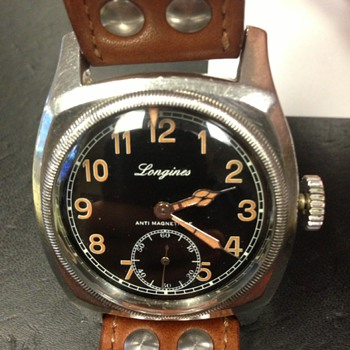 Vintage Longines Military Watch - Wristwatches