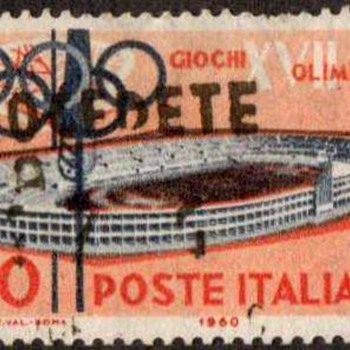 "1960 - Italy ""Olympic Games"" Postage Stamps - Stamps"