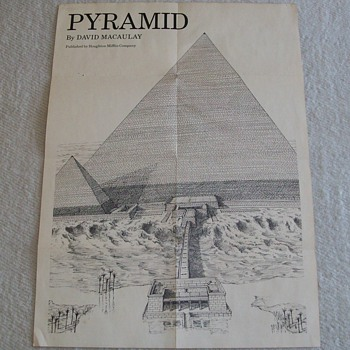 Pyramid Poster From 1976 - Posters and Prints