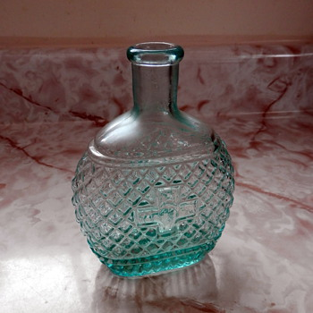 Mystery Bottle with a Cross