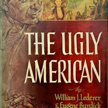 "1958 - ""The Ugly American"" **First Edition"