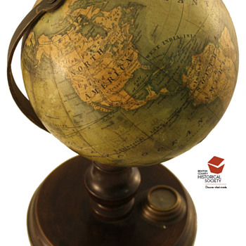 Globe: 19th c. by C. Abel – Klinger - Office