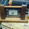 Lackner Neon Glo wooden clock