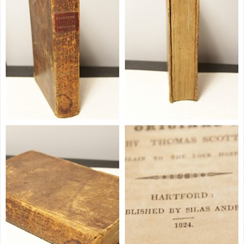 1824 Copy of The Pilgrim's Progress John Bunyan