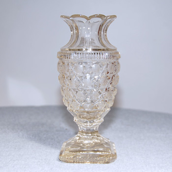 Unknown Crystal/Glass? Vase - Glassware