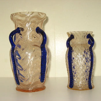 Couple more czech pieces - Art Glass