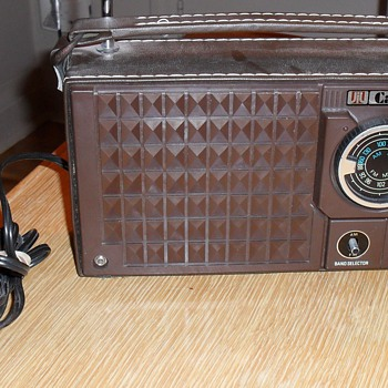 Candle radio.