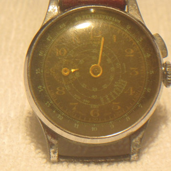 Anyone recognize this 1940's watch?