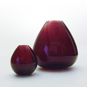 RUBY, Per Lütken (Holmegaard, 1952) - Art Glass