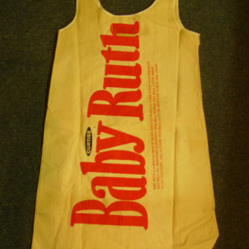 Vintage paper Baby Ruth dress 1960s - Womens Clothing