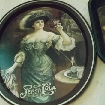 Pepsi cola tip tray - Advertising