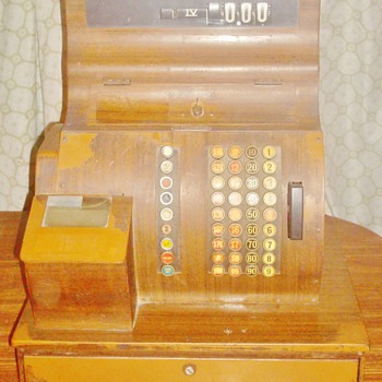 1940&#039;s National Cash Register