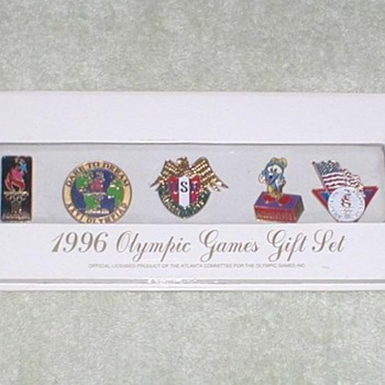 1996 Olympic Games Gift Set Pins - Outdoor Sports