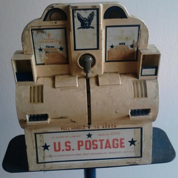Vintage Postage Machine - Stamps