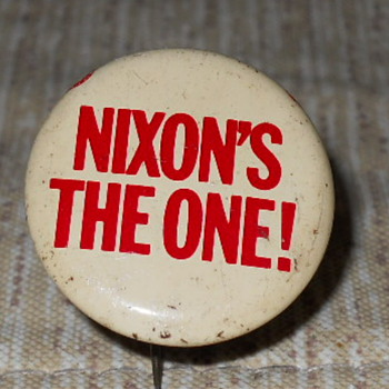 Richard Nixon pin - Medals Pins and Badges