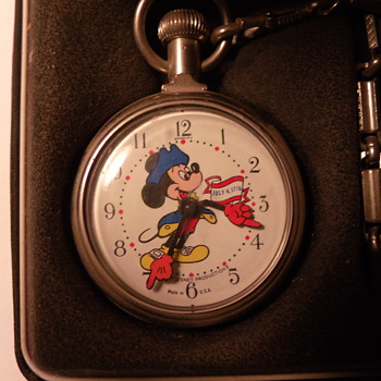 Bi-Centennial Mickey Mouse Pocket Watch