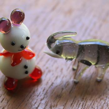Some sweet little glass animals - Animals