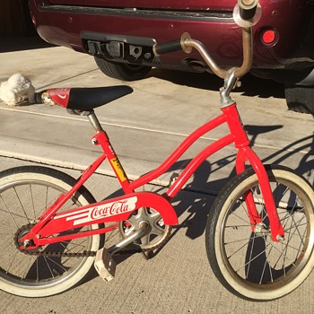 """Huffy 16"""" Coke Bike"""