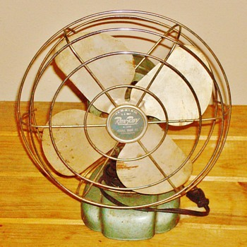 "Vintage Rex-Ray ""Drug Store"" Fan"