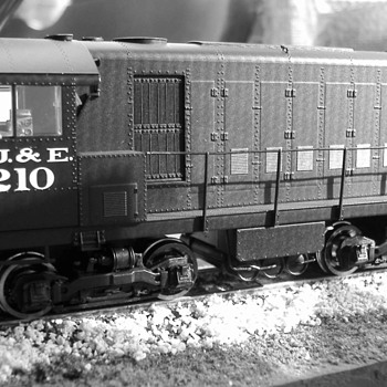 EJ&E #210 HH600 HO scale - Model Trains
