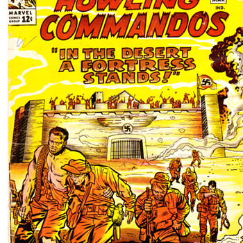 SGT.FURY and HOWLING COMMANDOS ! - Comic Books