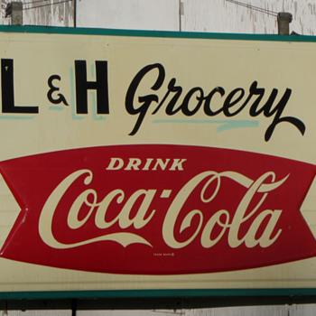 Coca Cola Store Sign 58x38