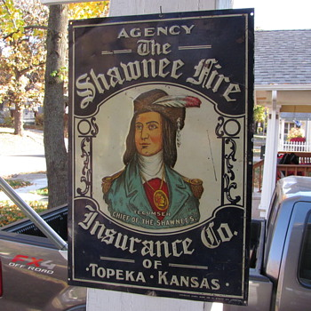 Topeka Kansas Sign - Advertising