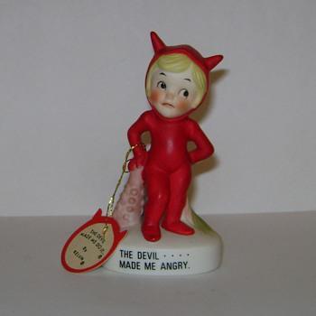 Vintage Devil Figurine - Figurines